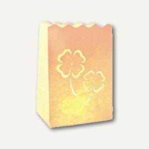 """Dekolichter """"Luminaria Four-leaved clover"""" - klein, schwer entflammb., 72St., 81"""
