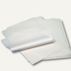 Papstar Einschlagpapiere, 1/4 Bögen, 50 x 37.5 cm, Cellulose, weiß, 10 kg, 12445