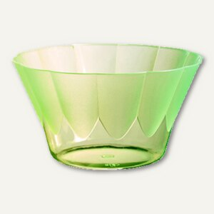 """Papstar Eis- & Dessertschalen """"Royal"""", PS, rund, 300 ml, grün, 264St., 12170"""