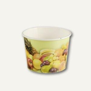 Eisbecher Früchte