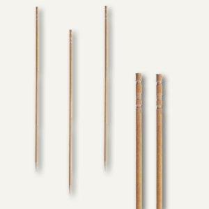 "Papstar Fingerfood - Spieße ""pure"", L 15 cm, gedrechselt, Holz, 6.000St., 81097"