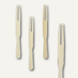 """Papstar Fingerfood - Spieße """"Pick up"""", L 8.5 cm, Bambus, 3.000er-Pack, 16784"""