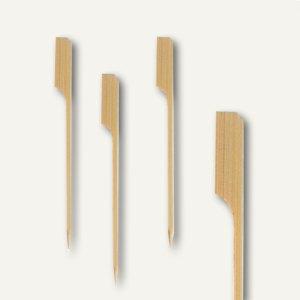 """Papstar Fingerfood - Spieße """"Golf"""", L 12 cm, Bambus, 1.500er-Pack, 16730"""