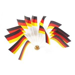 "Papstar Flaggen ""Deutschland"", Papier, (L)12 x (B)22 cm, 100er-Pack, 10066"