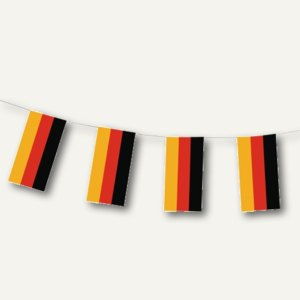 Artikelbild: Flaggenkette Deutschland