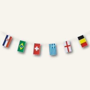 Artikelbild: Flaggenkette 32 Nations