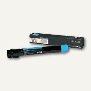 Lexmark Toner für C950de, ca. 24.000 Seiten, cyan, C950X2CG
