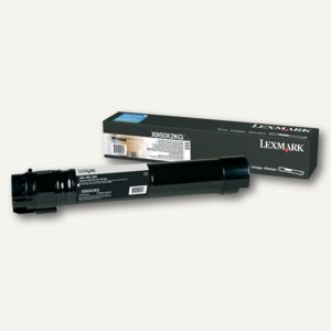 Lexmark Toner für X950, ca. 38.000 Seiten, schwarz, X950X2KG