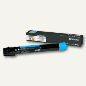 Lexmark Toner für X950, ca. 24.000 Seiten, cyan, X950X2CG