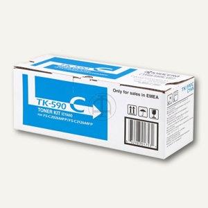 Kyocera Toner für Geräte aus der FS-C-Serie, ca. 5.000 Seiten, cyan, TK590C