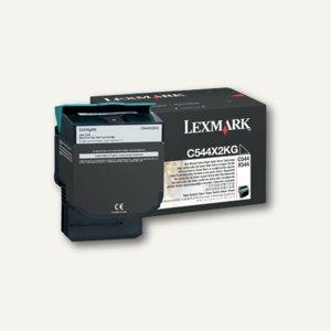 Lexmark Toner für C544, ca. 6.000 Seiten, schwarz, C544X2KG
