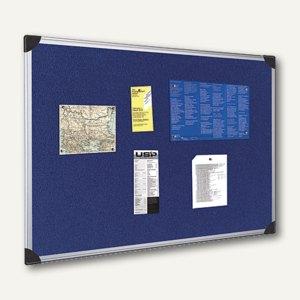 officio Pintafel, 90 x 60 cm, Alu-Rahmen, blau