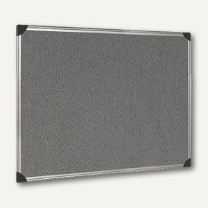 officio Pintafel, 90 x 60 cm, Alu-Rahmen, grau
