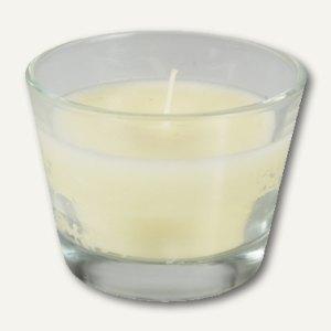 Artikelbild: Glas mit Wachsfüllung Ivory