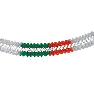 Großraumgirlande grün/weiß/rot