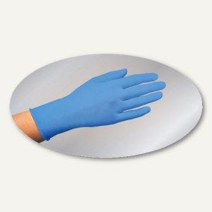 Papstar Einmalhandschuhe, Latex puderfrei, blau, Größe L, 1.000 Stück, 12257