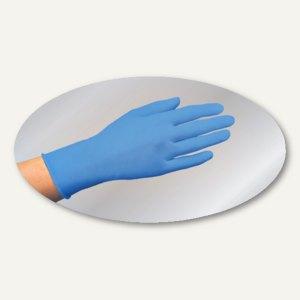 Papstar Einmalhandschuhe, Nitril puderfrei, blau, Größe M, 1.000 Stück, 12282