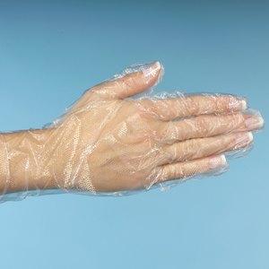 Papstar Handschuhe, unsteril, PE, transp., für Damen, Gr.M, 5.000 St., 12222