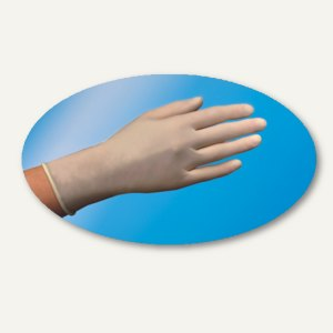 Papstar Einmalhandschuhe, Vinyl gepudert, Größe XL, transp., 1.000 Stück, 12227