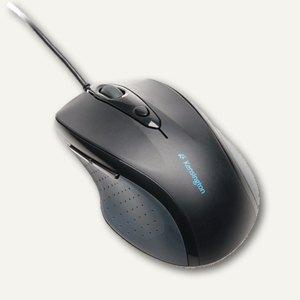 Kensington Maus Pro Fit, 1000 dpi, ergonomisch, schwarz, K72369EU