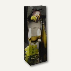 """Papstar Flaschen-Lacktragetasche """"Weißwein"""", 36 x 13 x 9 cm, 50er-Pack, 16401"""