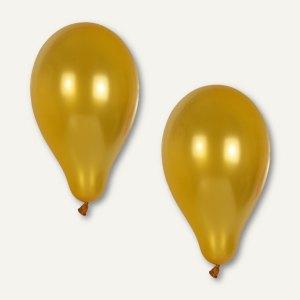 Papstar Luftballons, Ø 25 cm, gold, 120er-Pack, 18968