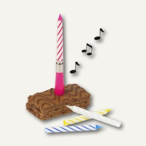 Musikkerze Happy Birthday