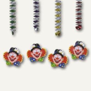 Rotor-Spiralen Clowngesicht