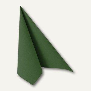"Papstar Servietten ""ROYAL Collection"", 1/4-Falz, 33x33cm, grün, 240St., 11245"