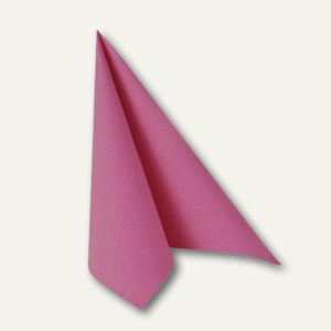 "Papstar Servietten ""ROYAL Collection"", 1/4-Falz, 40x40cm, fuchsia, 250St., 81747"