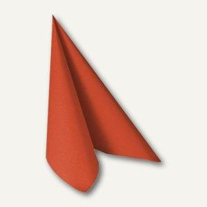 """Servietten """"ROYAL Collection"""", 1/4-Falz, 40x40cm, terracotta, 250St., 11620"""