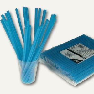 Papstar Shake-Halme, starr, Ø 8 mm, 25 cm lang, blau, 1.350 Stück, 12638