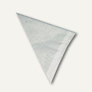 Papstar Spitztüten, gefädelt, Cellulose, weiß, Füllinhalt 250 g, 1.000 St.,11501