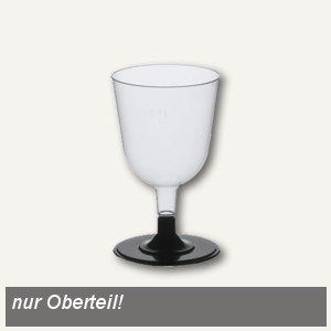 Weißwein-Stielgläser (Oberteile)