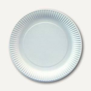 Papstar Pappteller, rund, Ø 20 cm, weiß, 1.000 Stück, 11175