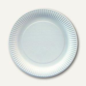 """Papstar Pappteller """"pure"""", rund, Ø 26 cm, extra stark, weiß, 500 Stück, 11176"""