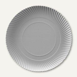 """Papstar Pappteller """"pure"""", rund, Ø 34 cm, 3 cm hoch, weiß, 200 Stück, 91145"""