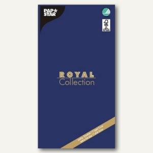 """Papstar Tischdecke """"ROYAL Collection"""", Tissue, 120x180cm, blau, 10er-Pack, 81819"""