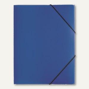 "Pagna Gummizugmappen ""Lucy Colours"", DIN A4, 245x320x5mm, blau, 21613-07"