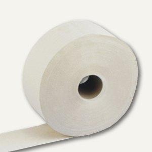 Toilettenpapier, 2-lagiges Tissue, weiß, Großrolle 10 cm x 400 m, 6 Rollen, 1700