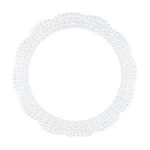 """Tortenspitzen """"Firenze"""" Fine Line, Premium-Qualität, rund, Ø30cm, weiß, 1.500St."""