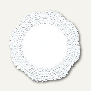 """Tortenspitzen """"Firenze"""" Fine Line, Premium-Qualität, rund, Ø12cm, weiß, 2.000St."""
