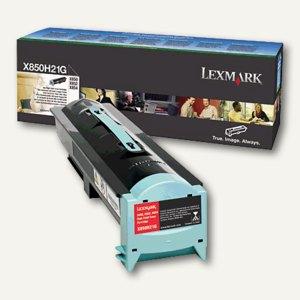 Lexmark Druckerkassette für X850, X852, X854, schwarz, X850H21G
