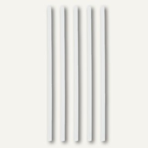 "Papstar Trinkhalme ""pure"", starr, Ø 6 mm, 21 cm lang, weiß, 500 Stück, 81591"