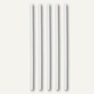 "Papstar Trinkhalme ""pure"", starr, Ø 6 mm, 21 cm lang, weiß, 1.500 Stück, 10201"