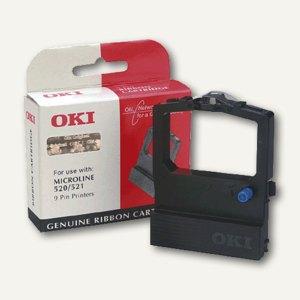 OKI Farbband Nylon ML520-521, schwarz, 09002315