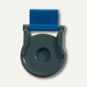 Laurel Kunststoff-Foldback-Klammer BRUTUS, 19 mm, blau, 12 Stück, 0716-30