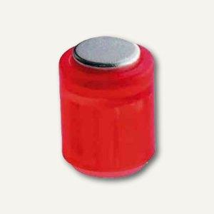 Laurel Power Magnet Zylinder Ø14 mm, Haft 1900g, kristallrot, 6er Pack, 4806-02