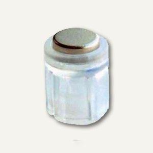 Laurel Power Magnet Zylinder Ø14 mm, Haft 1900g, kristall, 6er Pack, 4806-00