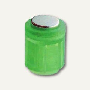 Laurel Power Magnet Zylinder Ø14 mm, Haft 1900g, kristallgrün, 6 St., 4806-06